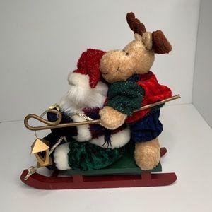 Other - Christmas Decor with Reindeer & Santa